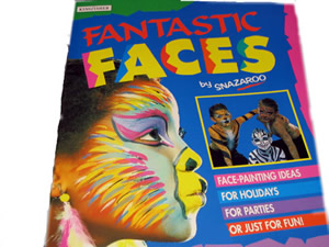Snazaroo Andlitslitunarb�k Fantastic Faces