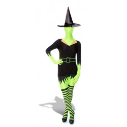 Morphsuit Green Witch (medium)