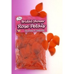 Bridal Shower Rose Petals Red