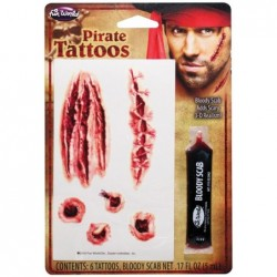 Horror Tattoos Pirate