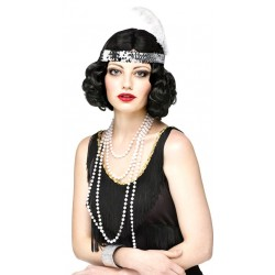 20s Flirty Flapper Dökk