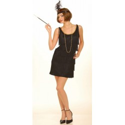 20s XL Flapper Black