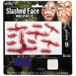 Slashed Face