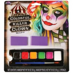 Colorful Killer Clown