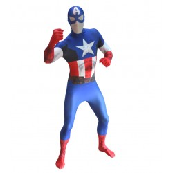 Morphsuit Captain America...