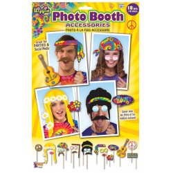 Hippie Photo Booth Accessories