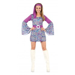 Groovy Hippy Lady Dress