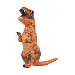 T-Rex Inflatable Barna